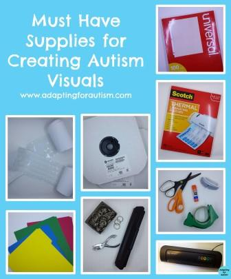 autism visual aids