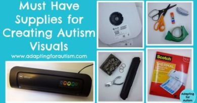 Autism Visuals aids Supplies