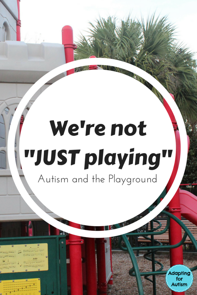 Autism Community Trips to the Playground