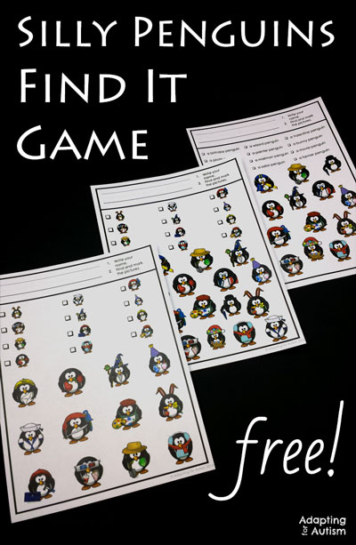 Free-Silly-Penguin-Find-It-Adapted-Games