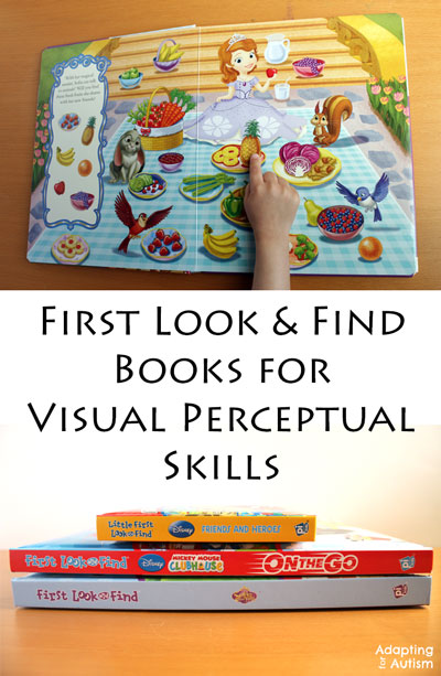 First Look-and-Find-Adapted-Games for Visual Percetual Skills Practice
