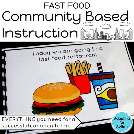 Community Based Instruction Unit for Fast Food Restaurant Field Trips