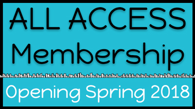 all access membership course title card