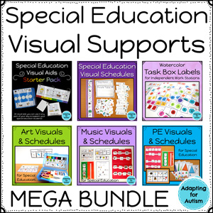 Visual supports for students with autism