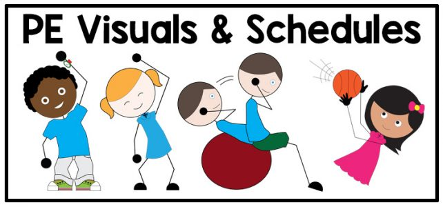PE Visuals and Schedules for Special Education