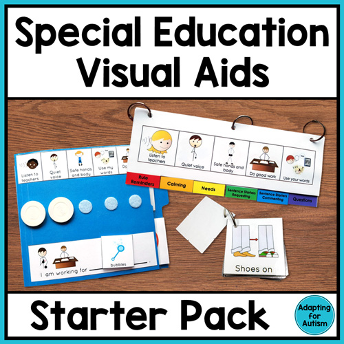 Visual supports for special education and autism classrooms | Adapting for Autism