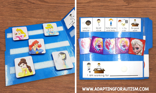 Behavior management token board system for special education | Adapting for Autism
