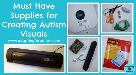Autism Visuals aids Supplies