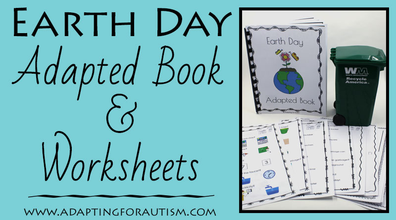 Learn about Earth Day in your special education classroom with this adapted book and comprehension worksheets. Includes visual supprts and differentiated worksheets ideal for students with autism.