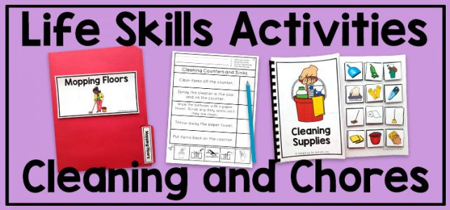 Life Skills Activities for Teaching Cleaning and Chores