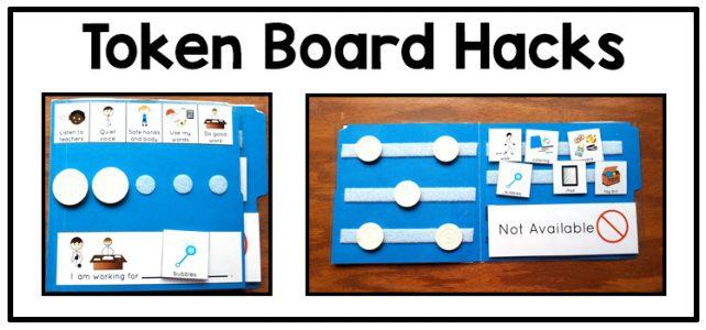 Behavior management visual support: token board ideas | Adapting for Auti\sm
