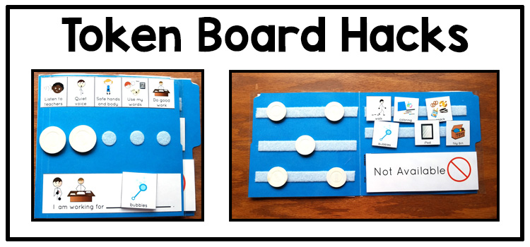 Behavior management visual support: token board ideas | Adapting for Auti\sm